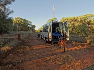 My relocation vehicle from Darwin to Alice Springs