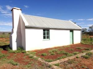 Albert Namatjira's house at Hermannsburg.