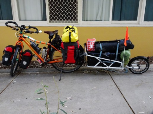 Ready to go, Alice Springs YHA