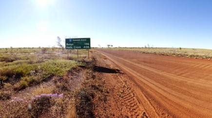 The Tanami Road heads west-ish from here