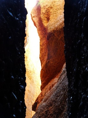 Light at the end of the chasm