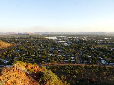Kununurra in all (OK most) of it's late afternoon glory