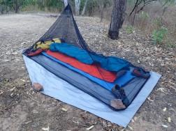 Mozzie net camping