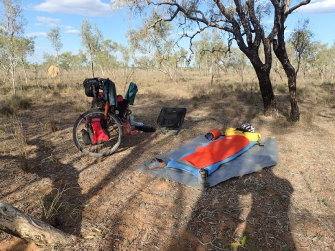 Random Wild Camp. No risk of mozzies. Though them ants and crawling bugs lead to very interesting dreams