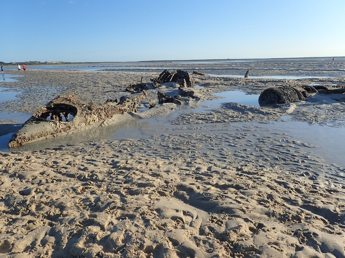 This aspect of Broome's history is slowly being converted to mud