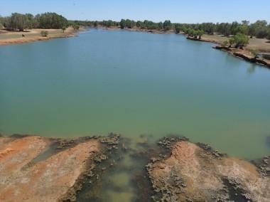 A Fitzroy River billabong