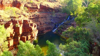 Fortescue Falls. I look forward to a swim and de-sweat process
