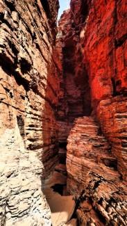More narrow canyons