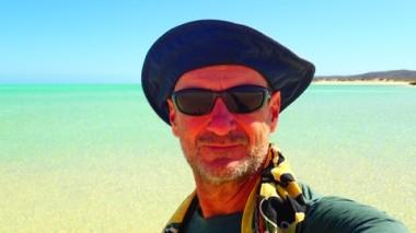 Sandy Beach Selfie