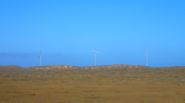 The only windmills I've seen in Western Australia!