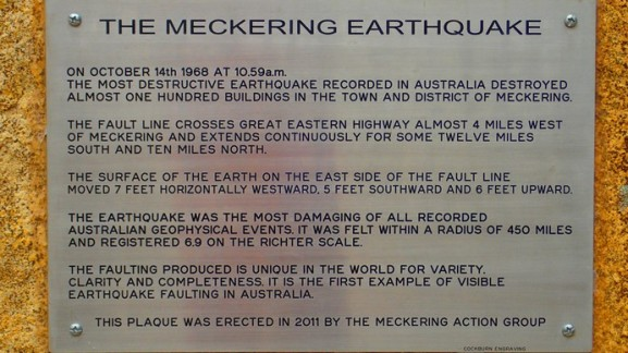 The Meckering Earthquake