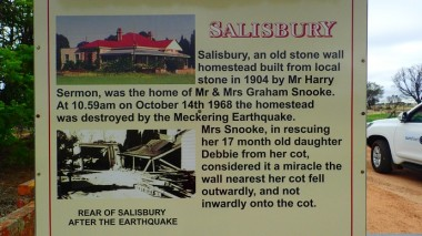 Salisbury: the last ruin of the Meckering Quake