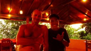 Me and Timothy