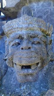 Cute carving, Hindu deity, Bali