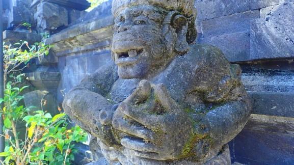 Hindu deity, bali