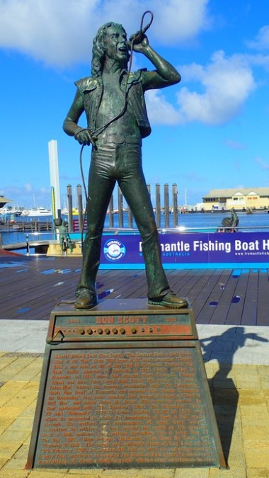 Bon Scott, of AC DC fame, hung around Fremantle well before he burnt out