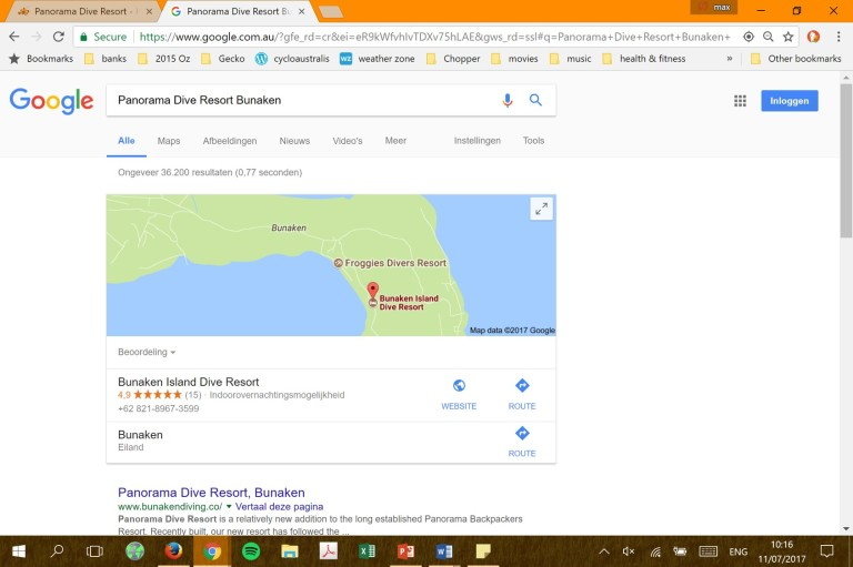 170711 Panorama Dive Resort google search