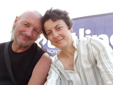 Selfie-couple, Mindil Beach markets