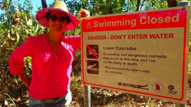 Wangi last year, Lower Cascades this year. Closed. Due to croc risk. According to a ranger they hadn't even assessed the pool and the path was still largely underwater. We went for the 1200 m hike to the upper cascades