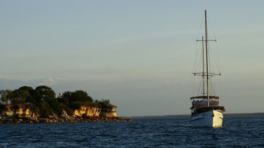 Schooner cruise off East Point
