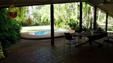 A pool is a bit of a necessity in the tropics