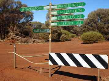 Iconic names connected by classic outback roads and long distances